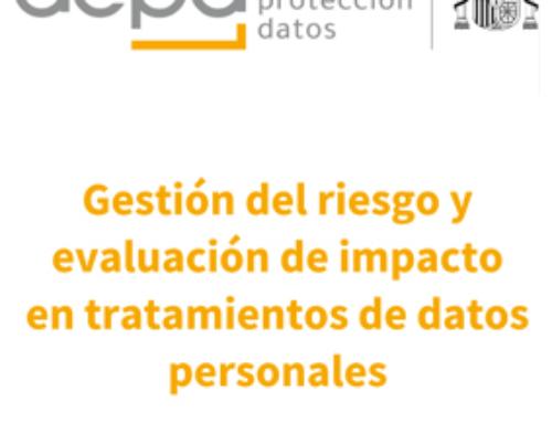 Guía Gestión del riesgo y evaluación de impacto en tratamientos de datos personales